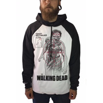 Casaco Blusa De Frio Moletom Seriado Zumbi The Walking Dead