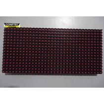 Placa P/ Painel Led P10 Branca 32x16cm 512leds Aquicompras