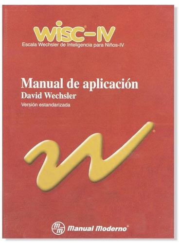 Prueba de inteligencia wisc iv escaneado pdf psicolog a for Manual de acuicultura pdf