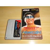 Super Fire Pro Wrestling Super Famicom Super Nintendo Japan