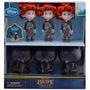 2012 Disney Pixar Brave Triplets Doll Set Trillizos Merida