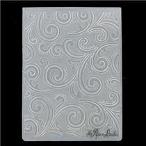 Scrapbook Folder Para Repujado Swirl Cuttlebug Sizzix