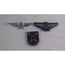 Kit 3 Peças Da Polícia Da Aeronáutica Pa