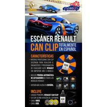 Renault Can Clip V145 Scanner De Diagnóstico A+++