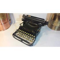 Máquina Escribir Antigua, Funciona Colección Vintage