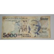 Brasil Billete De 5000 Cruzeiros *053