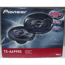 Kit 4 Pioneer 6x9 600w + Sub Slim 12 Pioneer 250w Rms