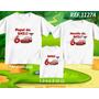 Lembrança De Aniversario Carros Mcqueen Camiseta Kit Com 3