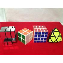 Rubik Marca Cube Magic Paquete 3 De 4 Cubos Magicos.