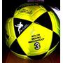 Balón Tamanaco Nº 3 En Neon Amarillo Y Blanco/negro Original