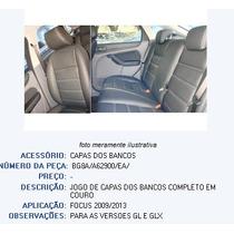 Jogo Capa Banco Portas Couro Legítimo Focus 08/13 - Original