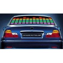 Painel Gráfico Colorido Sensor Led Equalizador Rítmico Carro