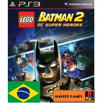 Lego Batman 2 Dc Universe Ps3 Psn Portugues Infantil