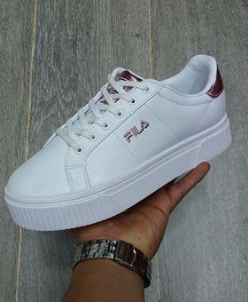 2fce096a41b Tenis Zapatillas adidas Fusion Plataforma -blanca Rosa Mujer -   158.909 en Mercado  Libre
