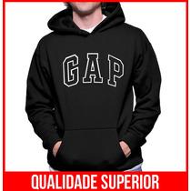 Moletom Gap Masculino Blusa De Frio Canguru Moleton Casaco