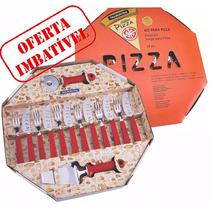 Kit Para Pizza 14 Peças - Cortador E Espatula Tramontina