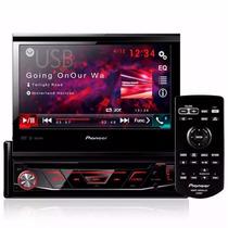 Dvd Player Pioneer Retrátil 7 Pol Com Bluetooth Avh-4880bt