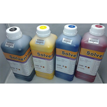 Tinta Eco Solvente Plotter Dx5 Dx7 Roland Mimaki Mutoh X 4lt