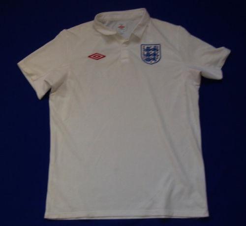 8ef20bd572 Camisa Inglaterra Umbro 2009 10 G Branca Home Excelente - R  129
