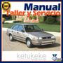 Manual De Taller Y Servicio Toyota Corolla 1984-1992 Ingles