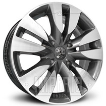 Roda Peugeot 307 Aro 17 - Grafite Diamantado