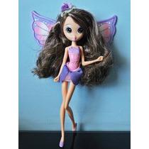 Boneca Barbie A Pequena Polegar Janessa Fada Lilás Mattel