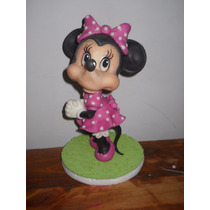 Minnie Mouse En Porcelana Fría