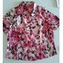 Blusas Camisas De Dama Talle 44/46 Seda Fina Crepe Colores
