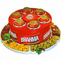 Cooler 3g Latas Brahma + Petisqueira Giratoria Doctor Cooler