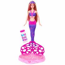 Boneca Barbie Fairy Sereia Bolhas Mágicas Mattel Ref.7767-2
