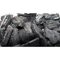 Turmalina Negra Bruta- Pedras Semi-preciosas Brasileiras