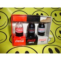 Coca Cola Mini Botellitas Miniatura Vidrio Coleccion Unica
