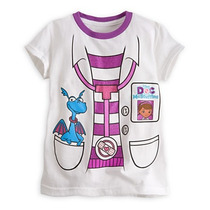 Remera Disney Store Doctora Juguetes Felpita Talle 4
