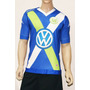 Camiseta Wolfsburgo Kappa Alterna 2015 Oficial Bundesliga