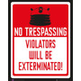 El Doctor Who Cartel - Keep Out Mini 40x50cm Sci Fi Tv