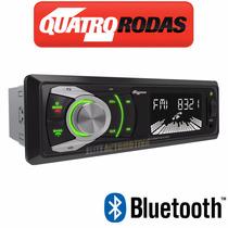 Aparelho Som Aquarius 4 Rodas Usb Mp3 Fm 6609 Cor Bluetooth