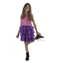 Disfraz Violetta Lila Talle 1