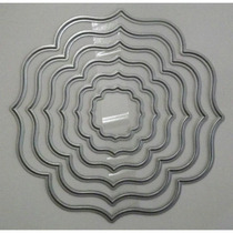 Facas De Corte Metal 22820 Framelits Conjunto C/ 6 Peças