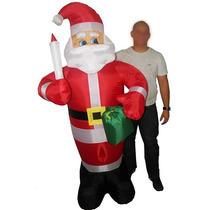 Papai Noel Eletrico Gigante Natal Inflavel De Natalino Festa