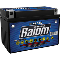 Bateria Moto Raiom Rtx6,5-bs Shineray Gy Explorer 150 X2 250
