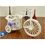 Bicicleta Para Arranjos Sem Flores - Artificiais Rosas Vasos