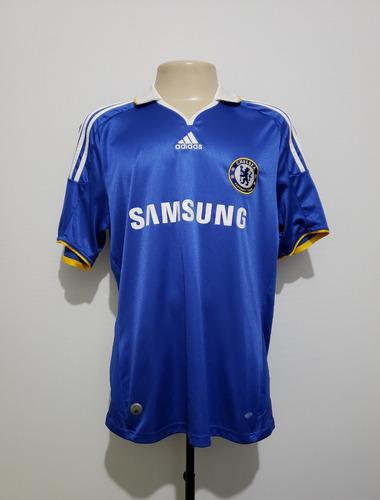 Camisa Oficial Chelsea Inglaterra 2008 Home adidas Tam G - R  159 1f9e2cc491ba3