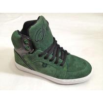 Bota Skater ** Krial Footwear ** Gamuza Cuero Verde