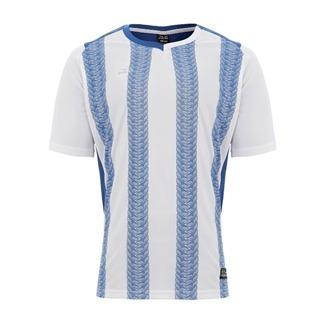 3f7581dcb Camiseta Pulse Grupo Everlast Listrada Branco Azul - R  18