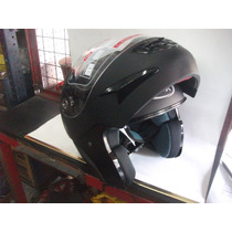 Casco Rebatible Max V200 Negro Mate Bikers Garage
