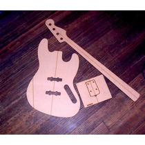 Plantillas De Jazzbass Fender Cuerpo Mango Y Neck Pocket