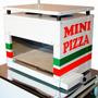 Forno Para Mini Pizza Com Pedra Refratária - Pipocar 1120