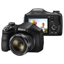 Camera Sony Dsc H300 20.1 Mpx 35x Semi Profissional Novo Nf