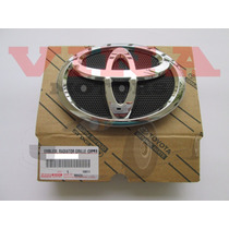 Emblema Grade Parachoque Diant Original Toyota Corolla 09-14