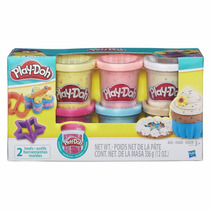 Play Doh Hasbro Confetti 6 Latas Y 2 Accesorios